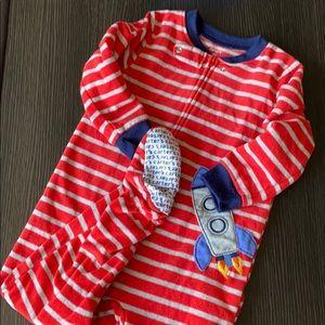 Carters Fleece Footie Pajamas sz 2T